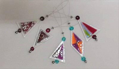 Fused Glass Decorations